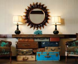 how to reuse suitcases in home decor furnish burnish