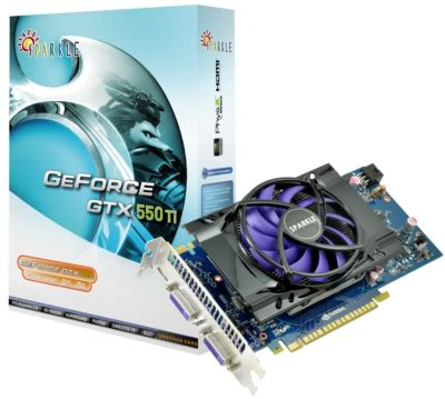 sparkle presents geforce gtx 550 ti graphics card