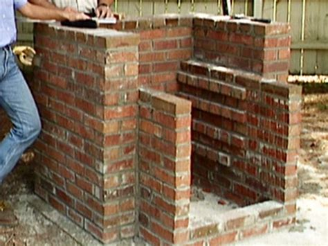 Make A Brick Pit how to build a brick barbecue backyards built ins and barbecue pit