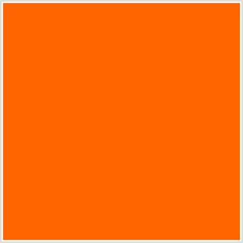 what color is orange ff6600 hex color rgb 255 102 0 blaze orange