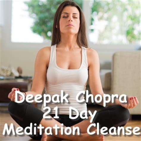 Deepak Healthy Detox by Dr Oz Deepak Chopra 21 Day Meditation Cleanse Tips For