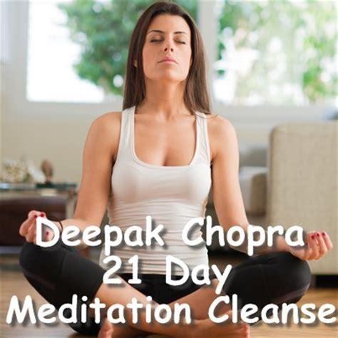 Deepak Chopra Detox Review by Dr Oz Deepak Chopra 21 Day Meditation Cleanse Tips For