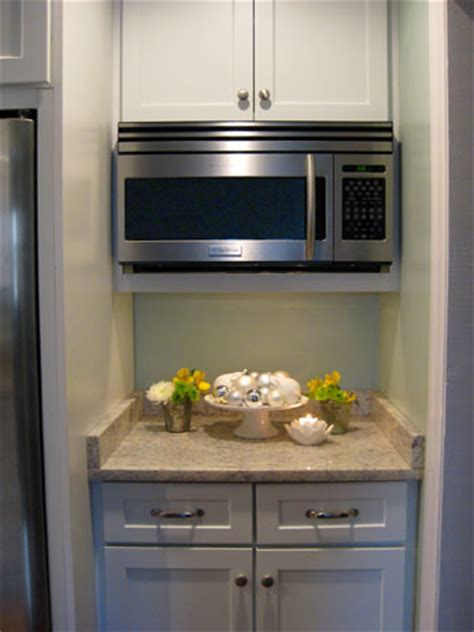 How To Hide A Microwave (Building It Into A Vented Cabinet)   Young House Love