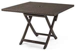 Foldable Patio Table Cafe Square Folding Table Patio Furniture Traditional Outdoor Pub And Bistro Tables