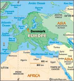 World Map Denmark by Denmark Map Geography Of Denmark Map Of Denmark