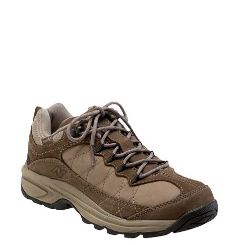 walking shoes new balance 967 walking shoe in brown lyst
