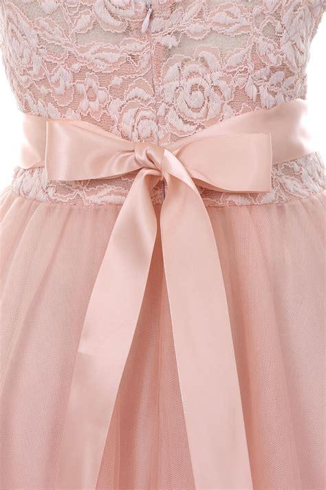 Flower Skirt Soft Pink soft lace flower dress in aqua blue