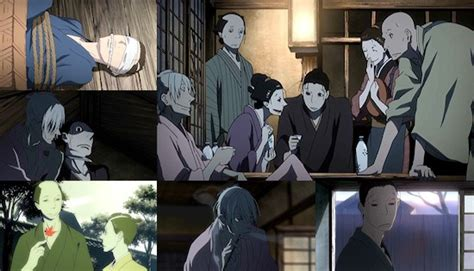 house of five leaves uka anime review house of five leaves