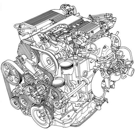 cool and exploded engine coloring book combustion engines to color books car engine diagram technical drawings cars