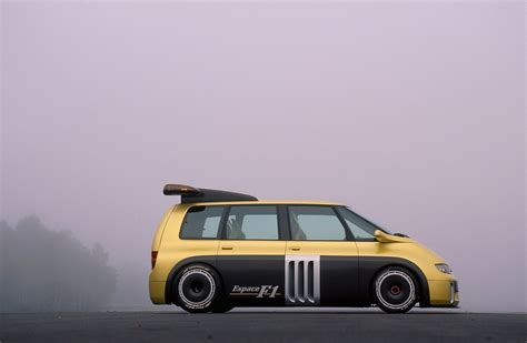 renault minivan f1 1995 renault espace f1 the beast youtube