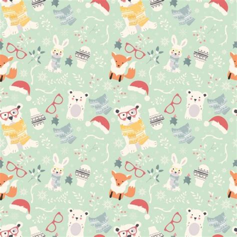 christmas patterns early years christmas pattern design vector premium download