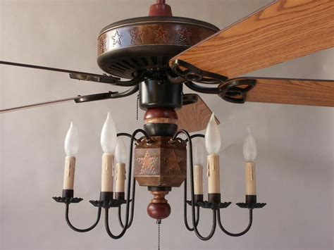 primitive ceiling fan primitive country ceiling fans