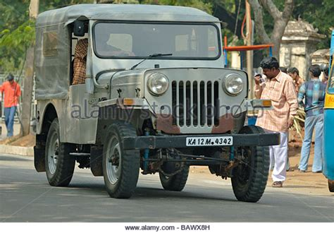 indian jeep mahindra mahindra jeep india stock photos mahindra jeep india