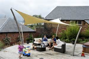 Patio Sail Canopy The Roller Tensile Solutions New Tensile Garden Sail