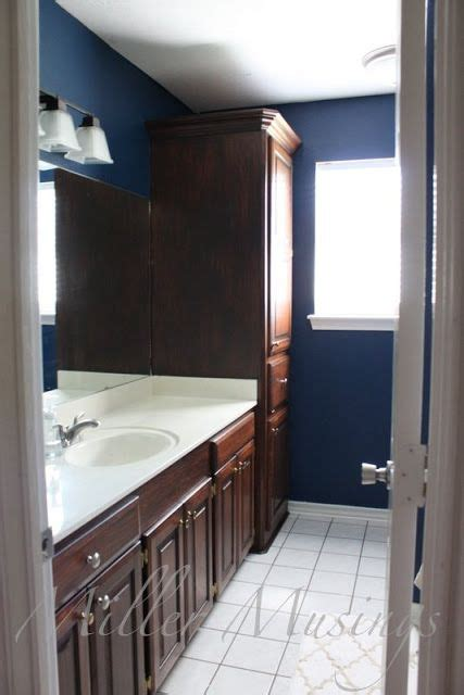 Ideas Bathroom Remodel this antique walnut gel stain would look great on the oak