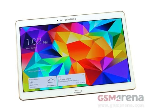 Samsung Tab S Second second samsung galaxy tab s detailed specs emerge