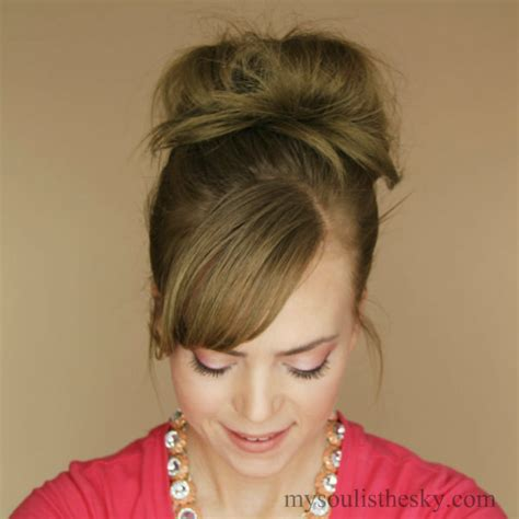 latest hairstyles of buns messy bun with latest hairstyles com missy sue