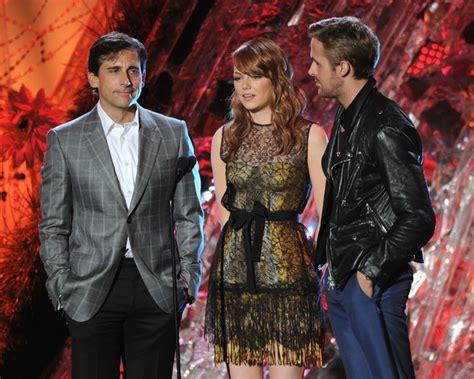 emma stone steve carell movies ryan gosling photos photos 2011 mtv movie awards show