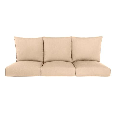 settee cushion pads outdoor patio sofa cushions replacement cushion for the