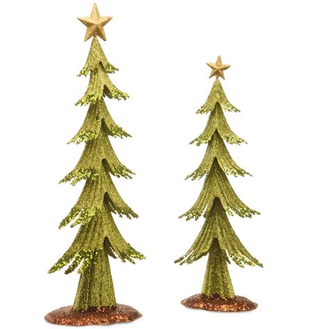 national tree company metal christmas tree set