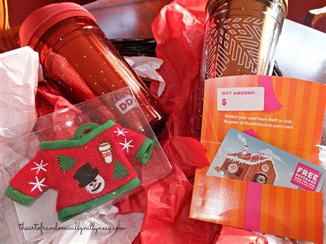 Where Can I Buy 5 Dunkin Donuts Gift Cards - the art of random willy nillyness holiday gift idea dunkin donuts last minute gifts