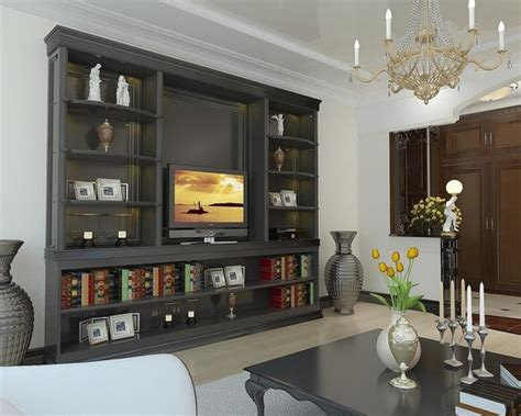 How To Decorate Showcase by Entertainment Centers For Flat Screen Tv S Entertainment