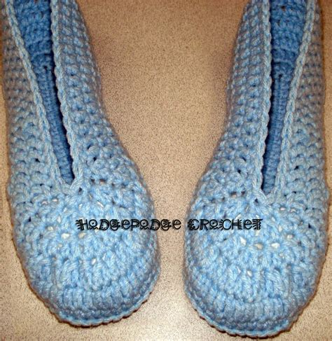 free crochet slipper patterns for adults ladies ballet slippers hodgepodge crochet