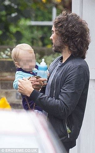 russell brand enjoys low key stroll with daughter mabel
