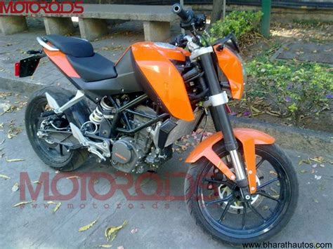 Ktm Duke 200 Price In Bangalore Spied Ktm Duke 200 In Bangalore