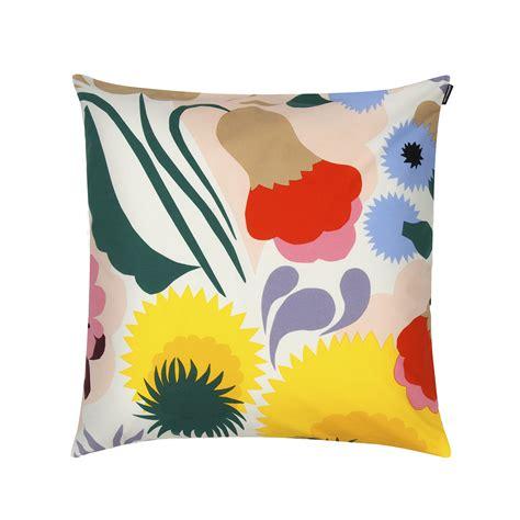 Marimekko Pillow by Marimekko Ojakellukka Throw Pillow New Arrivals