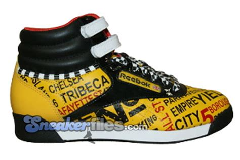 Reebok Freestyle Limited Edition by Reebok Womens Freestyle High New York City Edition
