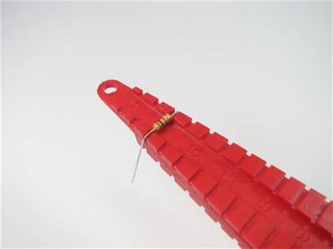 resistor lead bender resistor lead forming tool