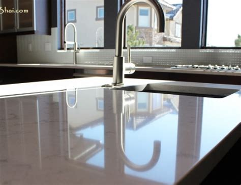 Corian Top Kitchen Platform Solid Surface Compared To Lamination Veneer Contractorbhai