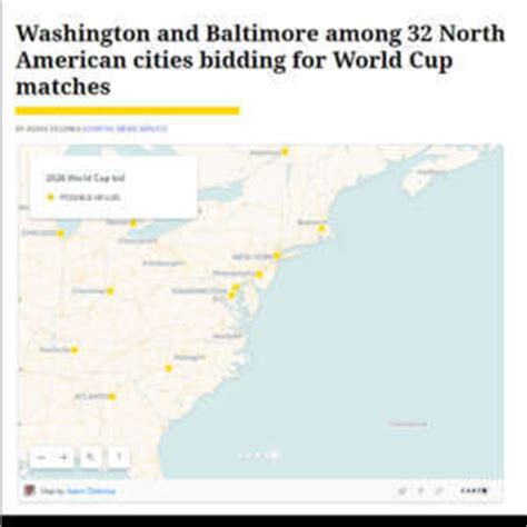 2026 world cup cities dc baltimore bid for 2026 world cup matches wtop