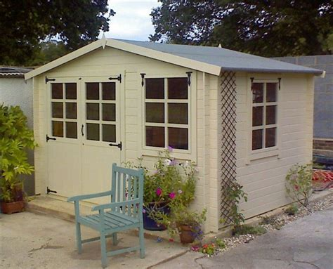 Painted Garden Sheds Uk by Painted Garden Shed Painted Garden Furniture Sheds