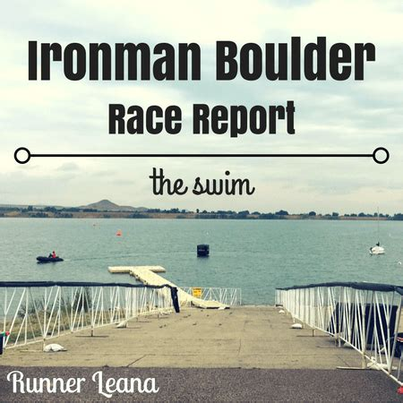 runner leana sometimes with a swimming and