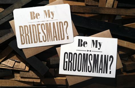 how to ask to be my will you be my bridesmaid 15 ways to ask your lovely