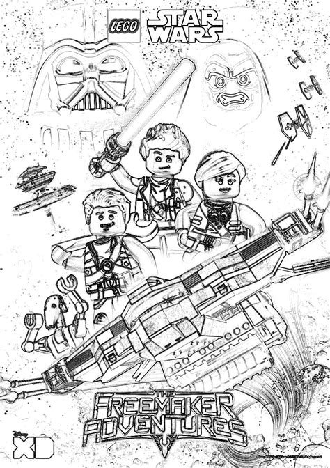 wars coloring pictures lego wars coloring pages the freemaker adventures