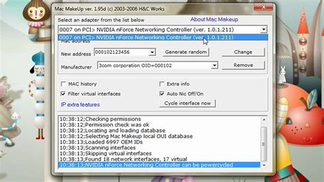 amac address change hacking tip change your mac address