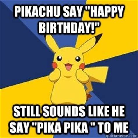Pokemon Birthday Meme - baka birthday pok 233 mon amino
