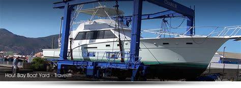 hout bay boat yard travelift hout bay