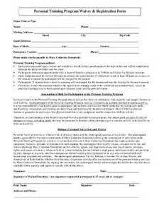 personal training forms templates fill online printable