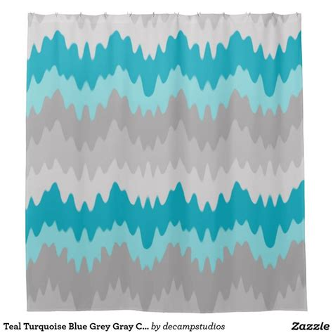Teal Ombre Curtains 17 Best Images About Shower Curtains On Chevron Rainbow Zebra And Gray Chevron