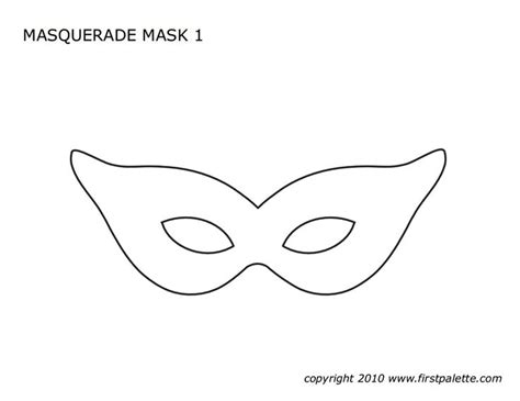 mask template the gallery for gt printable lace masquerade mask template