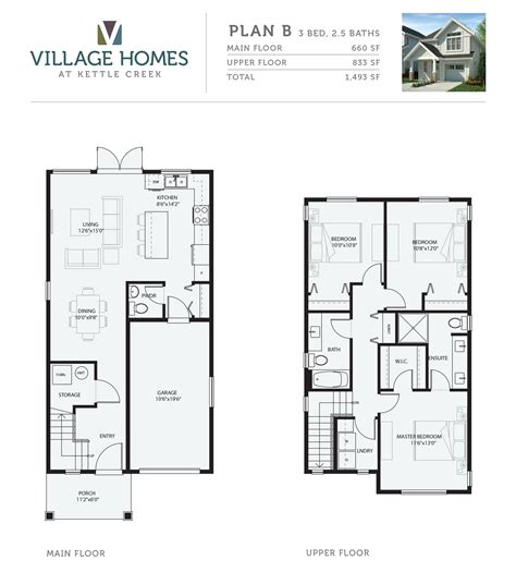 village homes floor plans 4 floor plans starting 379k from village homes langford