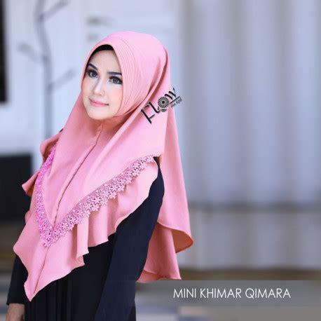 Gamis Misbi Khimar mini khimar qimara by flow pusat busana gaun pesta