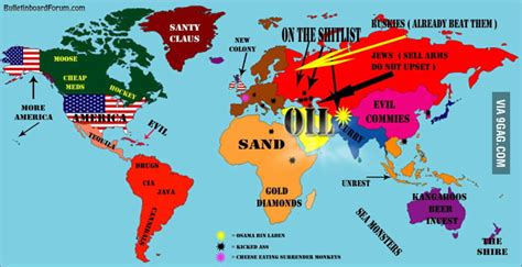 world map america how americans view the world map 9gag