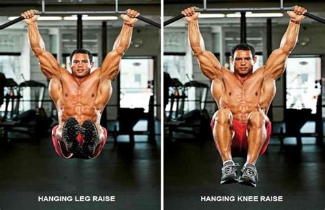 hanging leg raise bodybuilding wizard