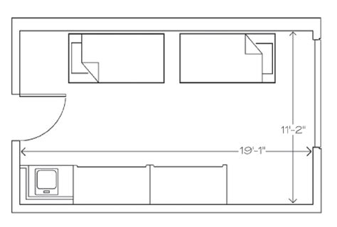 reves room diagram william mary residence halls north hall university of mary