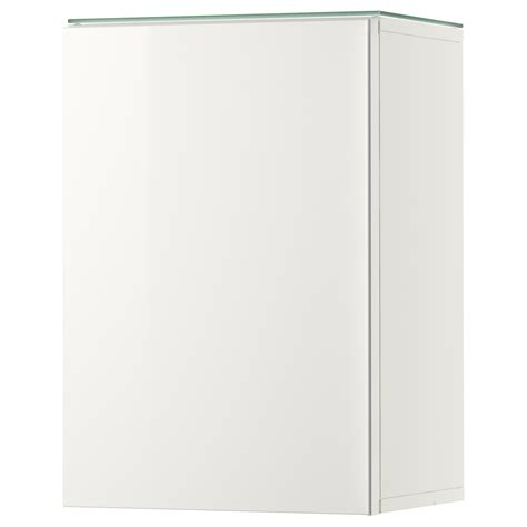 Double The Space Half The Clutter Godmorgon Wall Cabinet With 2 Doors